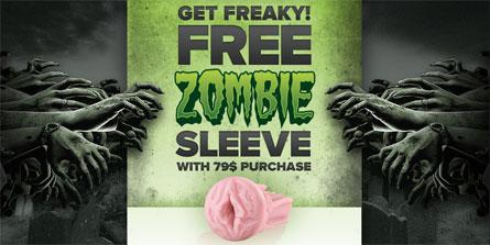 Free Zombie Fleshlight