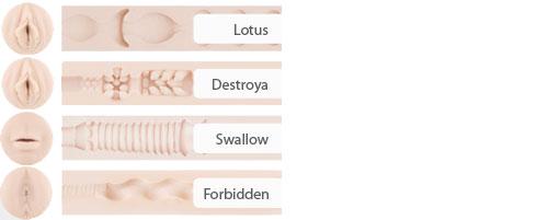 Stoya Fleshlight Textures